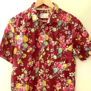 Your Neighbors Urban Outfitters floral button up